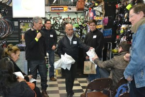 Bike Renaissance showed appreciation with amazing Goodie Bags!