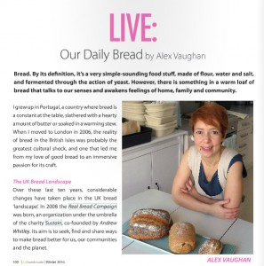 Alex bakes and teaches from her micro bakery in Camberwell