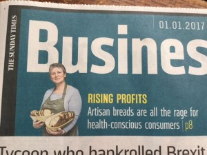 Bread's the business in The Sunday Times