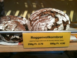 Good bread in Zurich