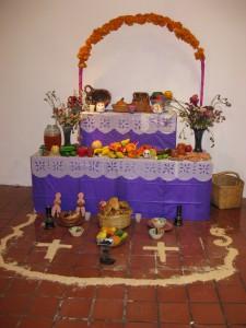 day of the dead altar dia del muerto altar