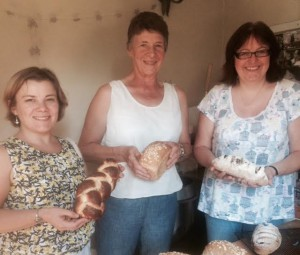 Three new micro bakers trained fresh from our micro bakery course