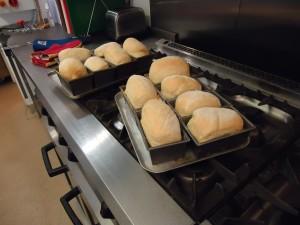 Baking with children at Sarum Hall School 9