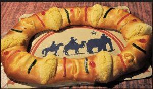 Traditional Rosca de Reyes