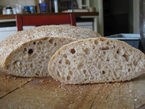 Pane de Genzano - risen and baked without the support of a form