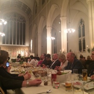The beautiful dinner for the World Bread Awards