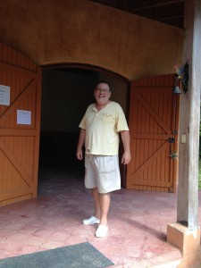 Here is Frank, trained in Paris and living in Costa Rica for the past 25 years.