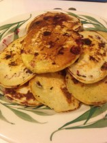 Blueberry sourdough pancakes are perfect for a cold winter morning.