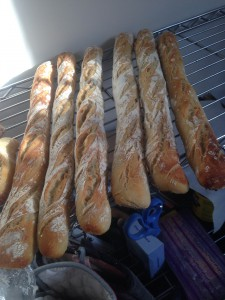Preliminary results of the baguette bake off.