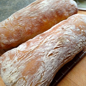 Lovely all rounder - ciabatta from Paul Hollywood