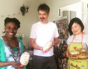 Gloria, Tony. Justine. New Bread Angels