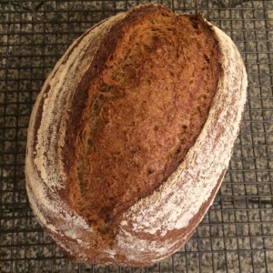 Silver award marmite bread by Liz Wilson
