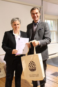 Michelle's win at the Small Food Awards