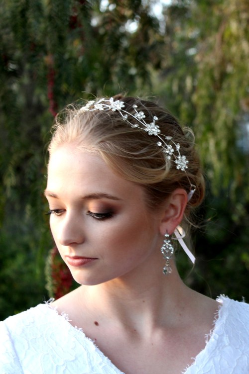 Rose Bridal Headpiece