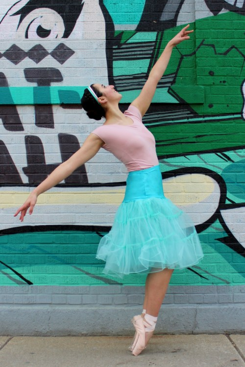 Tiffany Blue Retro Petticoat