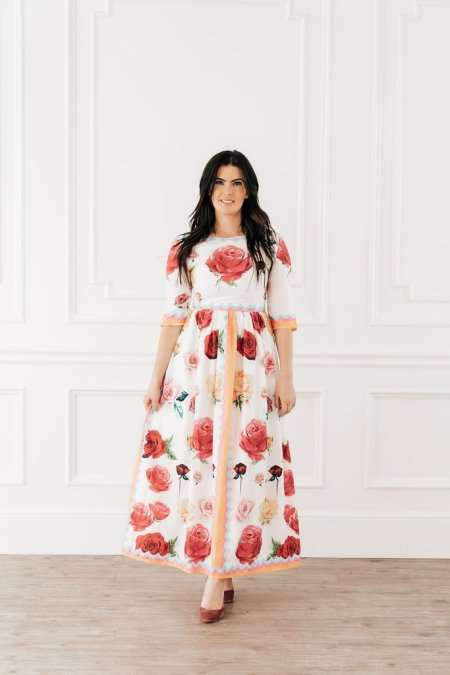 Shabby Apple Floral Maxi Dress