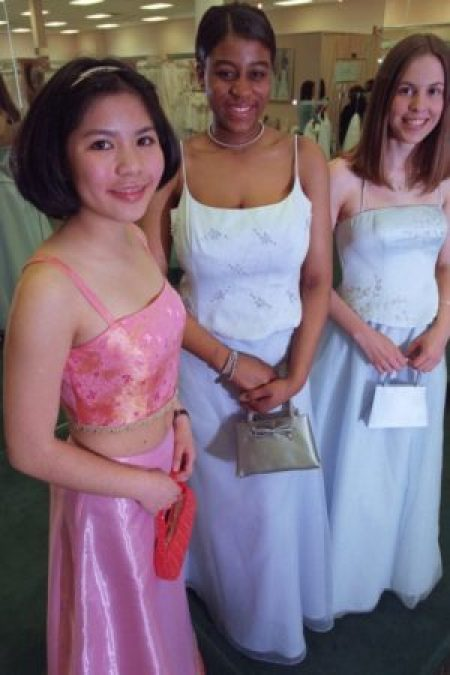 2000's Two Piece Prom Dresses