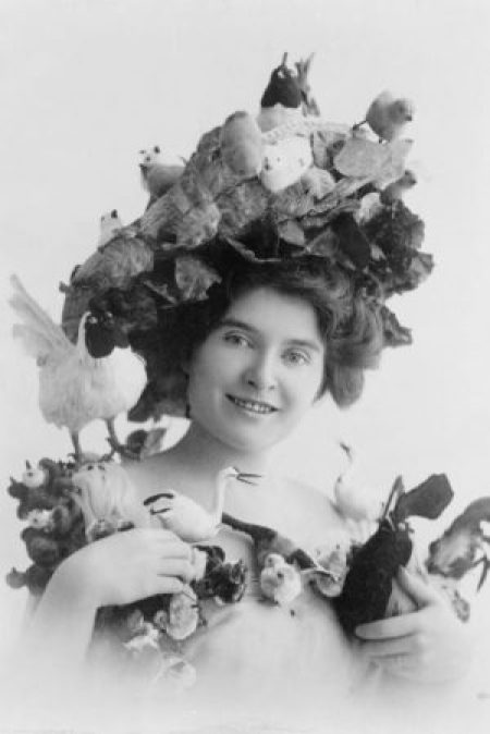 Edwardian Hat Birds Nest