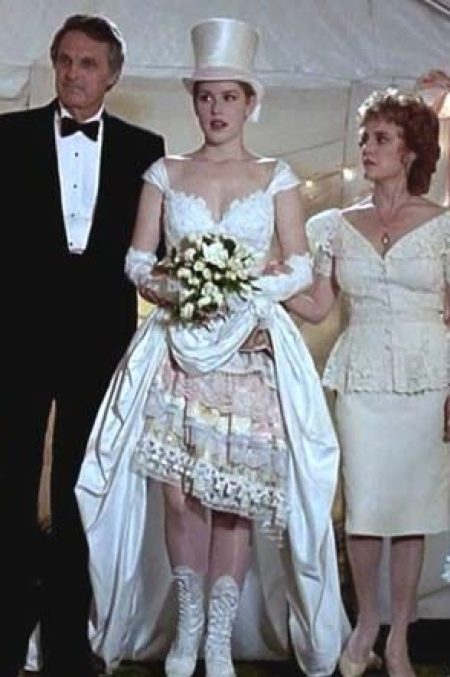 Betsy Hoppers Weird Eccentric Wedding Gown In Betsys Wedding