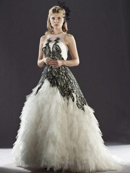 Fleur Delacour Harry Potter Wedding Dress