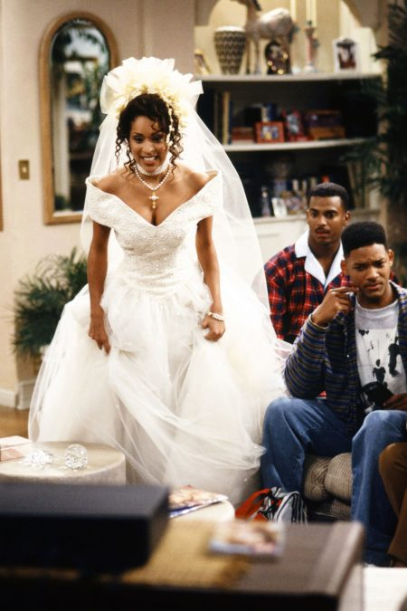 Hillary Banks' Wedding Dress Fresh Prince of Bel Air