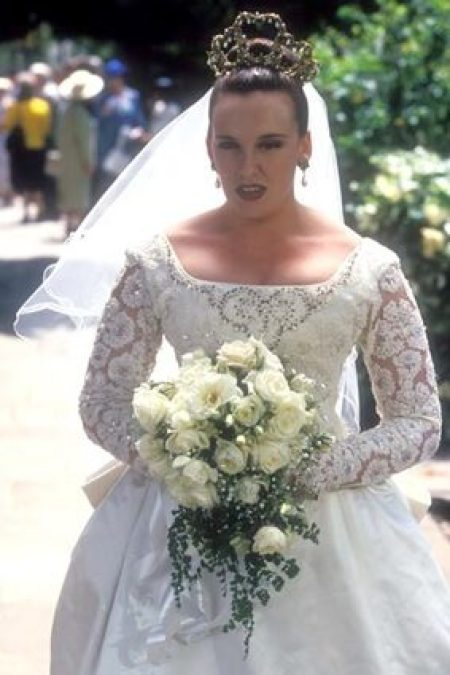 Muriels Real Life Wedding Dress