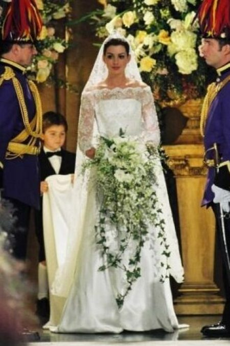Princess Diaries 2 Royal Engagement Anne Hathaway Wedding Dress