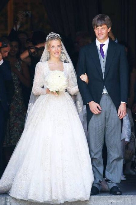 Princess Ekaterina of Hanover Sandra Mansour Wedding Gown