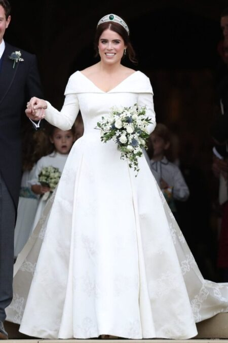 Princess Eugenie York Wedding Gown