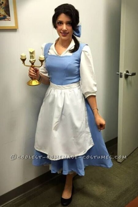 Belle Modest Halloween Costume