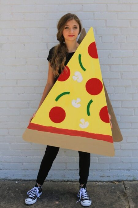 Pizza Modest Halloween Costume