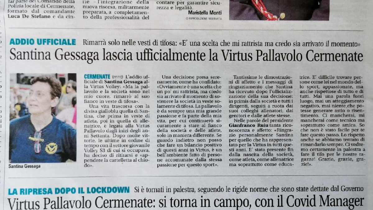 Giornale di Cantù - 13/06/2020