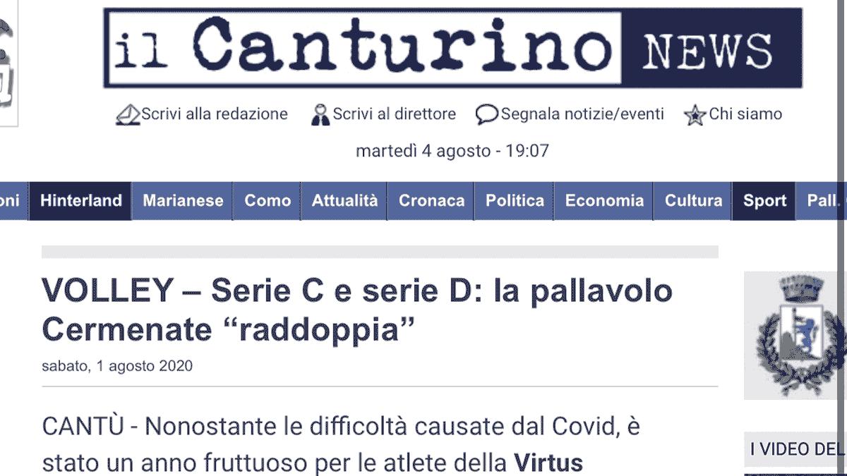 il Canturino news – 1 agosto 2020