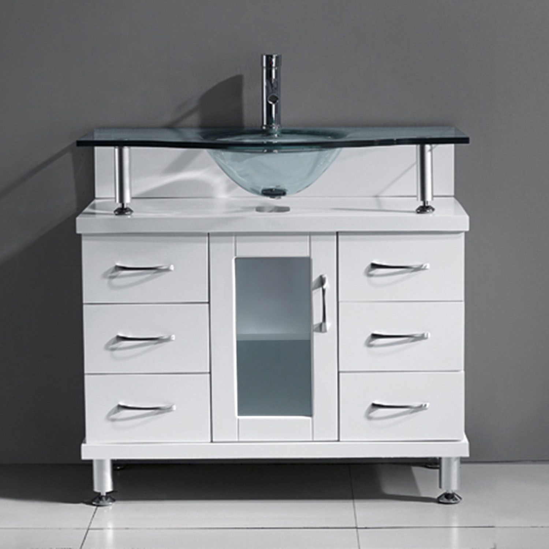 Vincente 36 Single Vanity Ms 36 Bathroom Vanities Virtu Usa