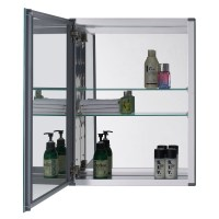"Confiant 20"" Mirrored Medicine Cabinet Recessed or Surface ..."