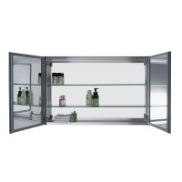 "Confiant 40"" Mirrored Medicine Cabinet Recessed or Surface ..."