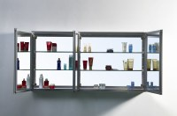 "Confiant 50"" Mirrored Medicine Cabinet Recessed or Surface ..."