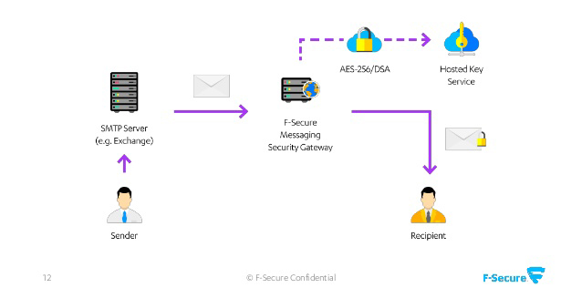 F-Secure Messaging Security Gateway, Email Encryption