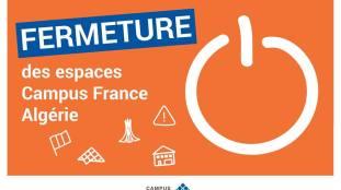Fermeture hivernale des espaces Campus France Algérie
