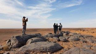 Un groupe de touristes étrangers visite Béchar (images)