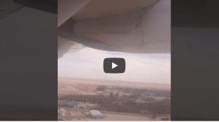 VIDÉO. Décollage d'un avion de l'aéroport de Hassi Messaoud