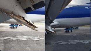 Un Boeing 737 endommage son aile gauche lors d'un atterrissage – Vidéo