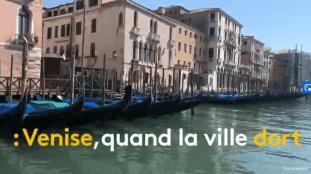 VIDÉO. Confinement : découvrez Venise sans les touristes