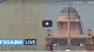 VIDÉO. Coronavirus en Inde : la couleur du ciel avant et après le confinement