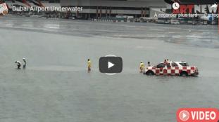 VIDÉO – A Dubaï, la pluie provoque des inondations à l'aéroport