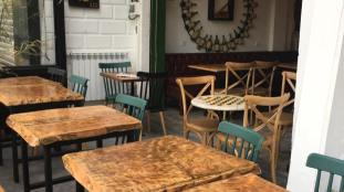 CENTRAL PARK. Café-restaurant d'Alger