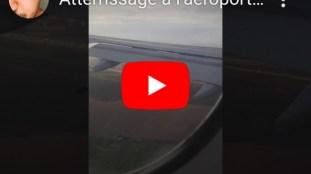 Vidéo. Atterrissage d'un avion à l'aéroport d'Alger