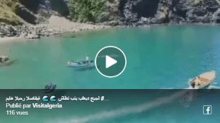 Vidéo – Découvrez la magnifique plage de Beni Belaïd à Jijel