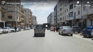 VIDÉO. Nouvelle balade en voiture à Oran