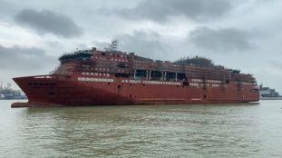 PHOTOS – Algérie Ferries annonce la mise à flot d'un nouveau navire